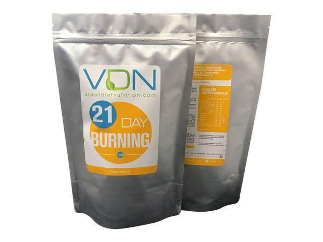 21 DAY BURNING est un mélange exclusif à base de plantes
