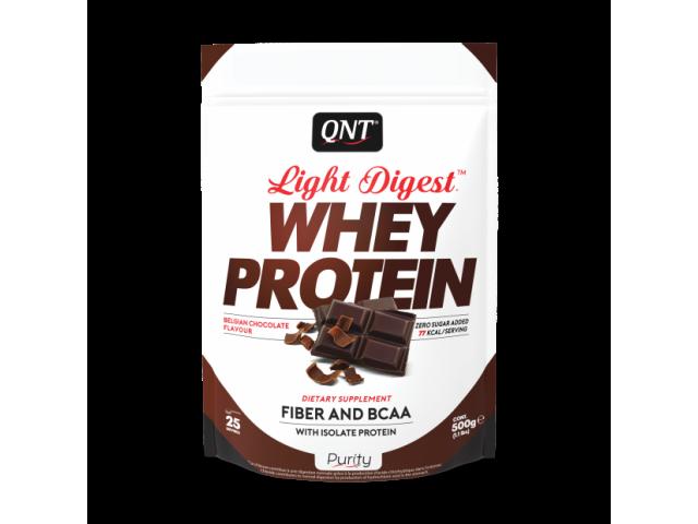 light digest whey protein QNT chocolat