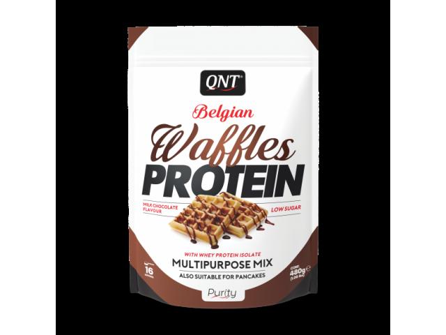 waffles protein qnt gaufres protéinées chocolat