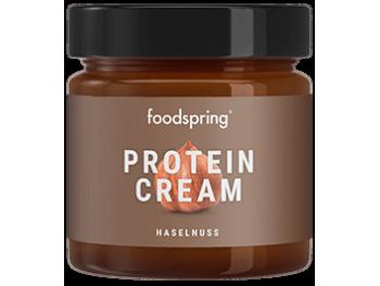 protein cream hazelnut foodspring pate à tartinée protéinée