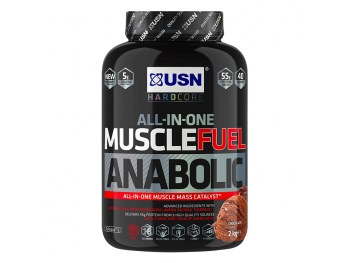 muscle fuel anabolic usn chocolat gainer