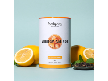 Energy Aminos Foodspring Booster ice tea