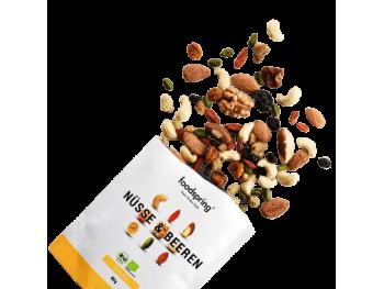 nuts & berries mélange de fruits secs foodspring