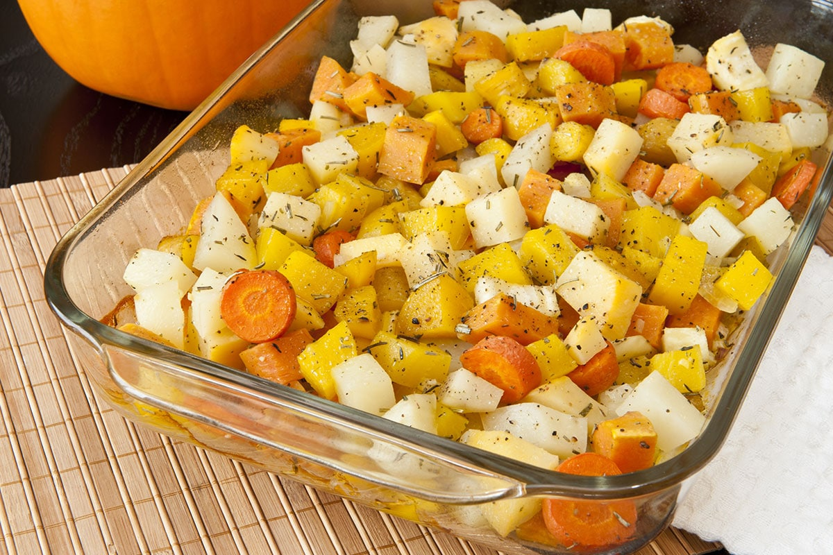 Poelée automnale panais et carotte