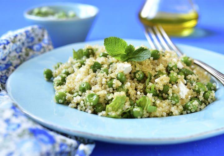 Taboulé frais de quinoa