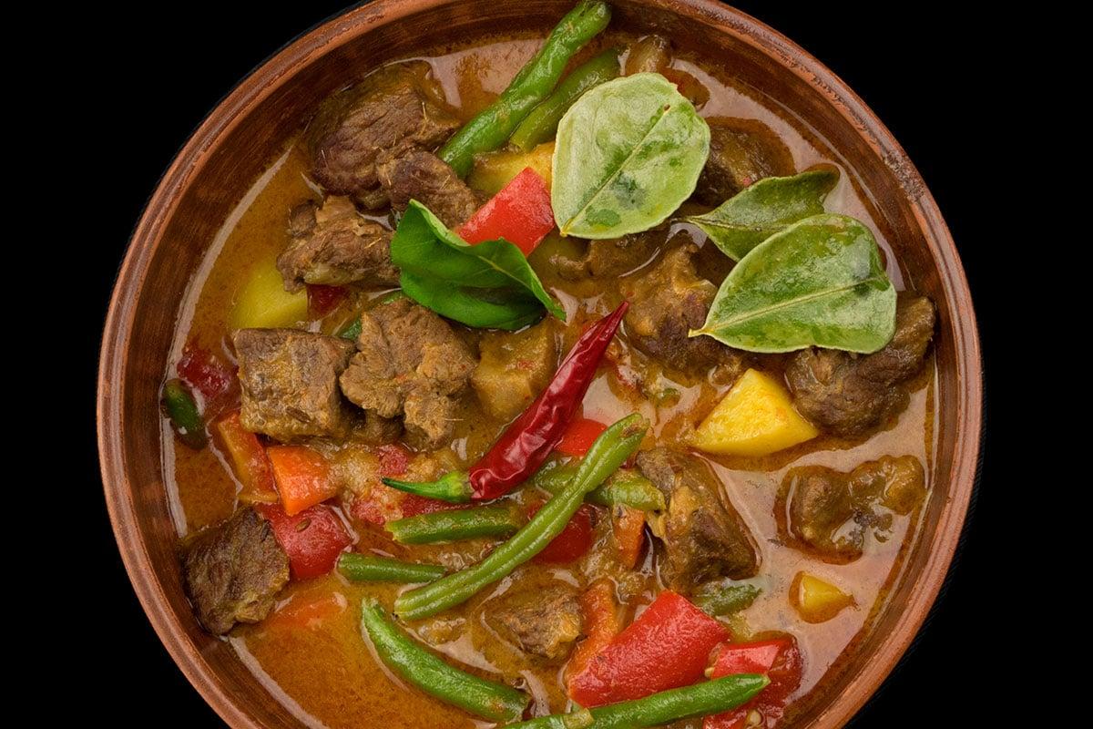 Curry de veau aux Amandes