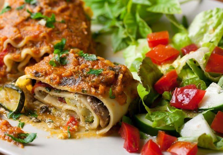 Lasagnes vegan d'arnaud