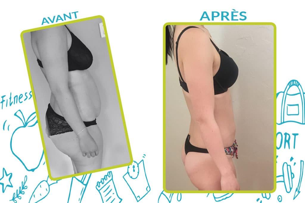 Perte de poids suite à une grosesse